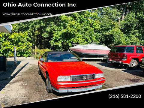1990 Cadillac Allante for sale at Ohio Auto Connection Inc in Maple Heights OH