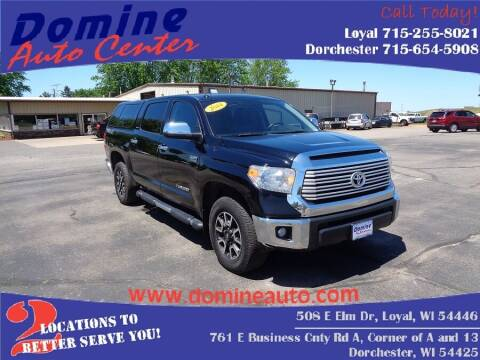 2014 Toyota Tundra for sale at Domine Auto Center in Loyal WI