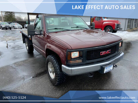 1998 GMC Sierra 2500 for sale at Lake Effect Auto Sales in Chardon OH
