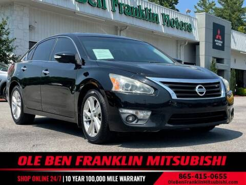 2013 Nissan Altima for sale at Ole Ben Franklin Mitsbishi in Oak Ridge TN