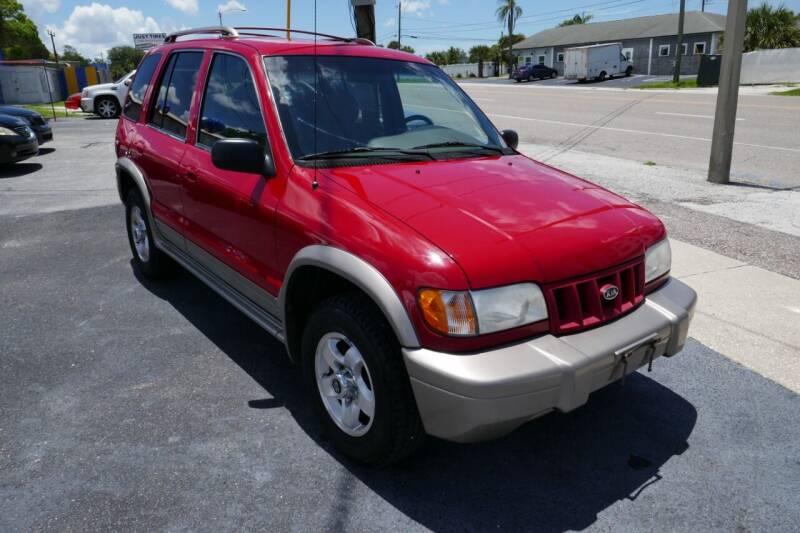 2002 Kia Sportage for sale at J Linn Motors in Clearwater FL