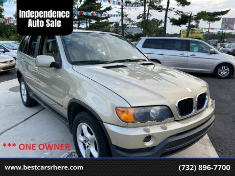 2002 BMW X5 for sale at Independence Auto Sale in Bordentown NJ