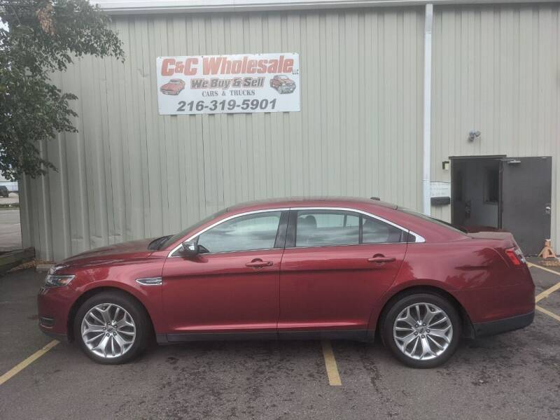 2015 Ford Taurus for sale at C & C Wholesale in Cleveland OH