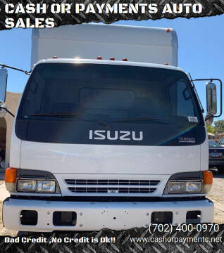 2001 Isuzu NPR for sale at CASH OR PAYMENTS AUTO SALES in Las Vegas NV