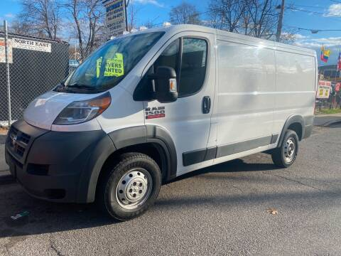 2016 RAM ProMaster Cargo for sale at White River Auto Sales in New Rochelle NY