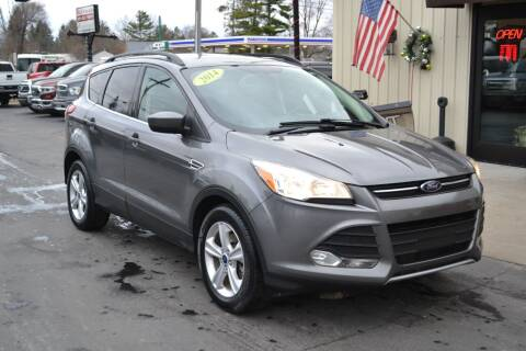 2014 Ford Escape for sale at Nick's Motor Sales LLC in Kalkaska MI