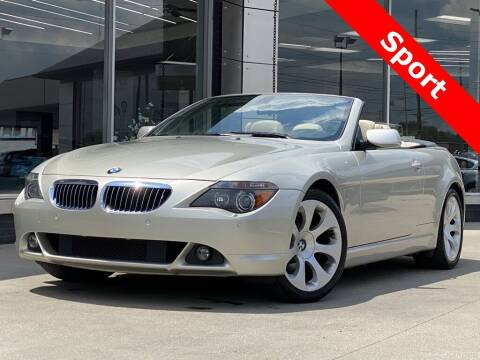 2006 BMW 6 Series for sale at Carmel Motors in Indianapolis IN