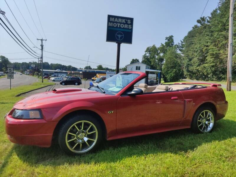 2001 Ford Mustang for sale at Mark's Motors in Northampton MA