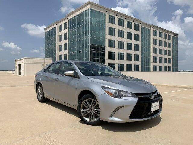 2017 Toyota Camry for sale at SIGNATURE Sales & Consignment in Austin TX