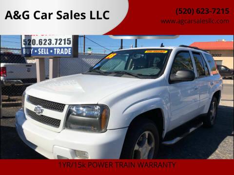 2008 Chevrolet TrailBlazer for sale at A&G Car Sales  LLC in Tucson AZ