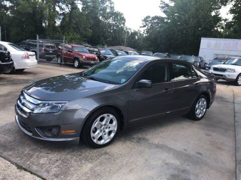 2010 Ford Fusion for sale at Baton Rouge Auto Sales in Baton Rouge LA