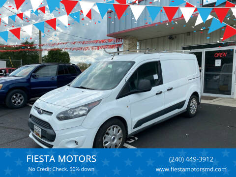 2015 Ford Transit Connect Cargo for sale at FIESTA MOTORS in Hagerstown MD