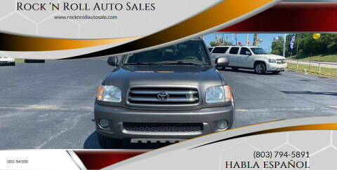 2004 Toyota Sequoia for sale at Rock 'n Roll Auto Sales in West Columbia SC