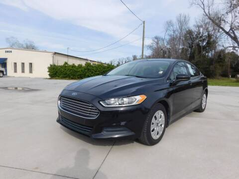 2014 Ford Fusion for sale at AUTO SOURCE in Savannah GA