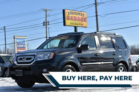 2010 Honda Pilot for sale at Broadway Garage of Columbia County Inc. in Hudson NY