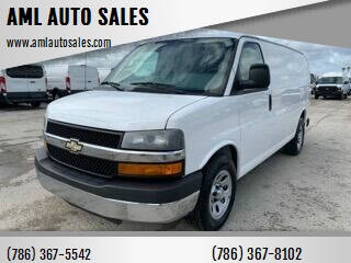 2014 Chevrolet Express Cargo for sale at AML AUTO SALES - Cargo Vans in Opa-Locka FL