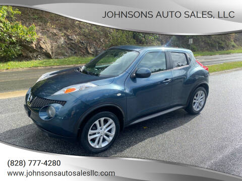 2011 Nissan JUKE for sale at Johnsons Auto Sales, LLC in Marshall NC