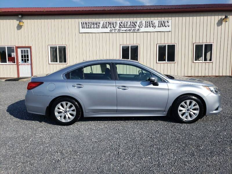 2015 Subaru Legacy for sale at White Auto Sales Inc in Summersville WV