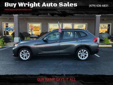 2014 BMW X1 for sale at Buy Wright Auto Sales in Rogers AR