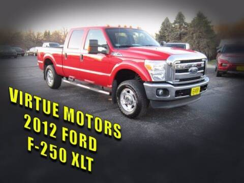 2012 Ford F-250 Super Duty for sale at Virtue Motors Used in Darlington WI