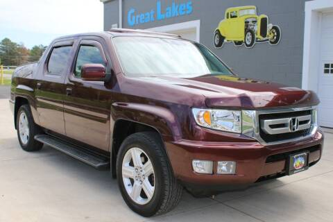 2011 Honda Ridgeline for sale at Great Lakes Classic Cars & Detail Shop in Hilton NY