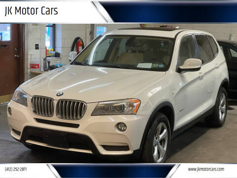 2011 BMW X3 for sale at JK Motor Cars in Pittsburgh PA