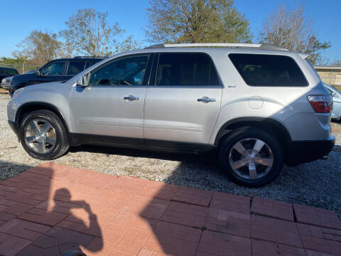 2012 GMC Acadia for sale at Bobby Lafleur Auto Sales in Lake Charles LA