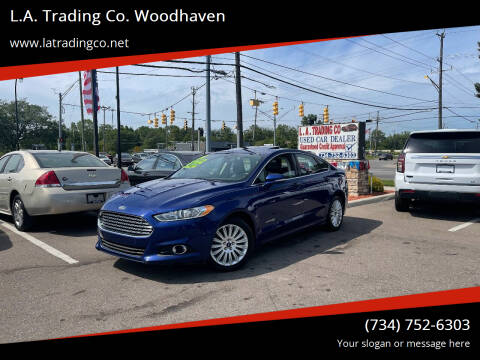 2014 Ford Fusion Hybrid for sale at L.A. Trading Co. Woodhaven in Woodhaven MI