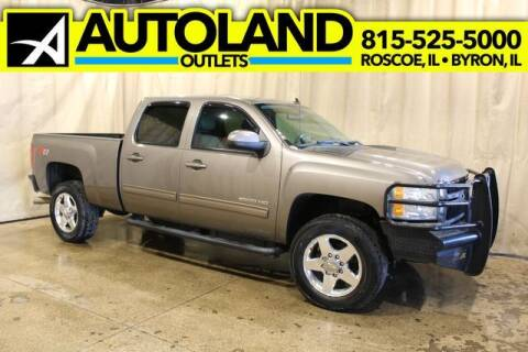 2012 Chevrolet Silverado 2500HD for sale at AutoLand Outlets Inc in Roscoe IL