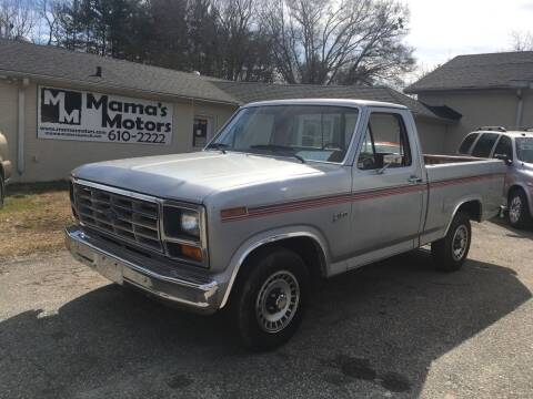 1982 Ford F-150 for sale at Mama's Motors in Greer SC