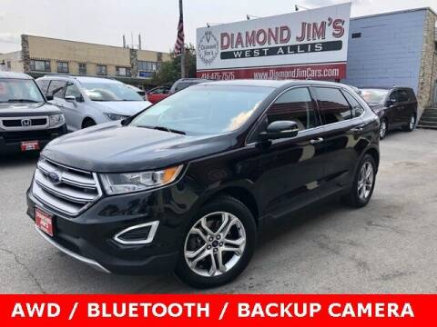 2015 Ford Edge for sale at Diamond Jim's West Allis in West Allis WI