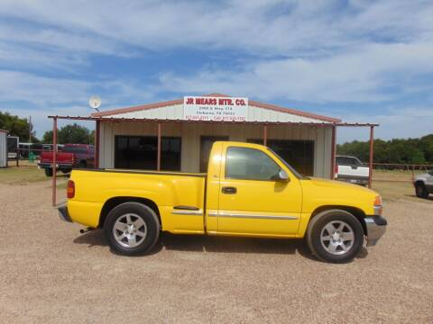 2001 GMC Sierra 1500 for sale at Jacky Mears Motor Co in Cleburne TX