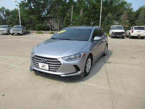 2017 Hyundai Elantra for sale at Aztec Motors in Des Moines IA