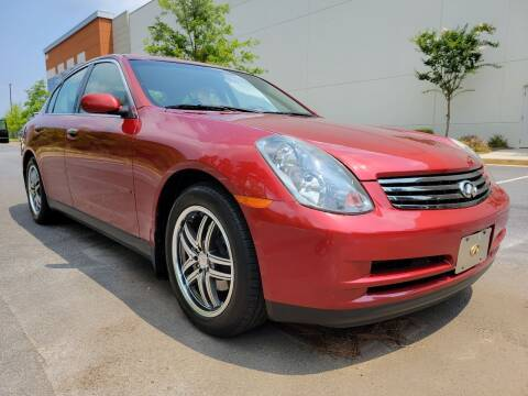 2003 Infiniti G35 for sale at ELAN AUTOMOTIVE GROUP in Buford GA