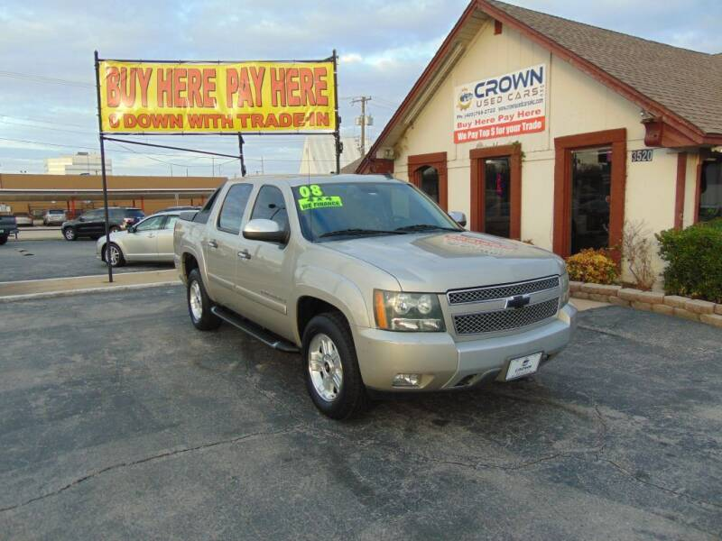 2008 Chevrolet Avalanche for sale at Crown Used Cars in Oklahoma City OK