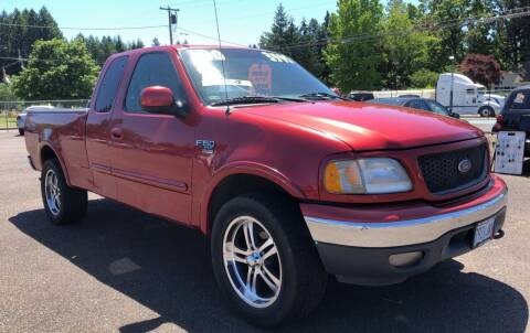 2000 Ford F-150 for sale at Freeborn Motors in Lafayette, OR