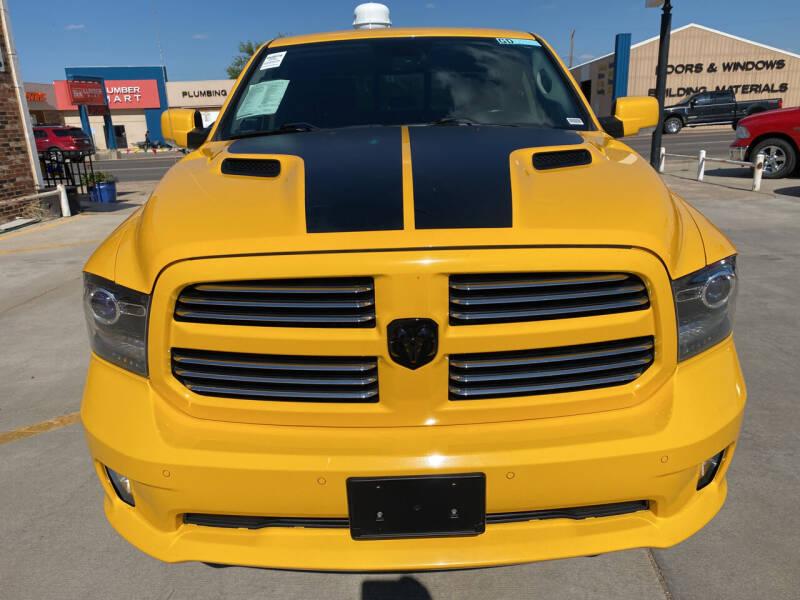 2016 RAM Ram Pickup 1500 for sale in Guymon, OK