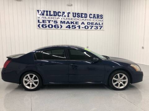 2007 Nissan Maxima for sale at Wildcat Used Cars in Somerset KY