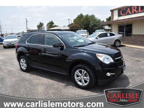 2015 Chevrolet Equinox for sale at Carlisle Motors in Lubbock TX
