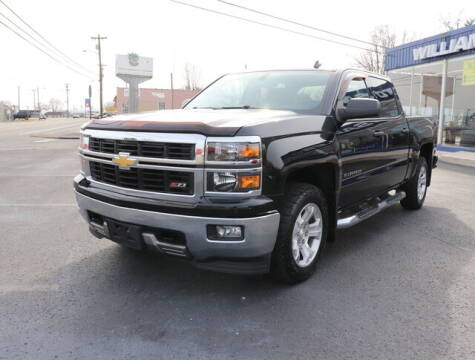 2014 Chevrolet Silverado 1500 for sale at Williams Auto Sales, LLC in Cookeville TN