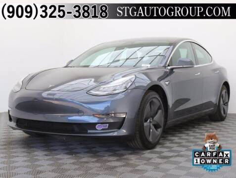2019 Tesla Model 3 for sale at STG Auto Group in Montclair CA