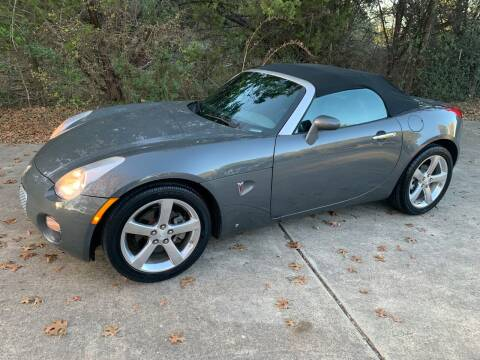2008 Pontiac Solstice for sale at TROPHY MOTORS in New Braunfels TX