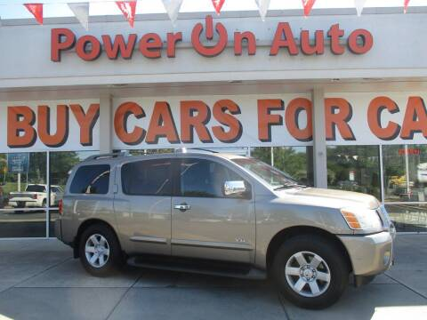 2006 Nissan Armada for sale at Power On Auto LLC in Monroe NC