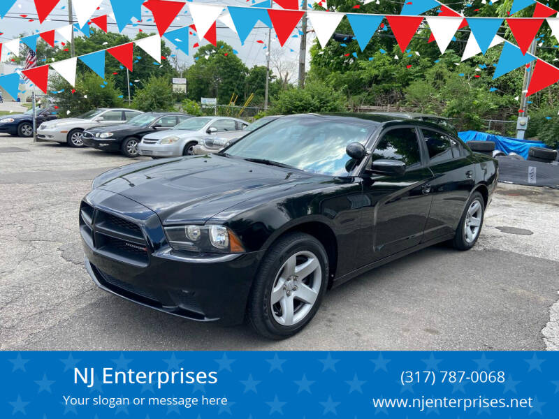 2014 Dodge Charger for sale at NJ Enterprises in Indianapolis IN