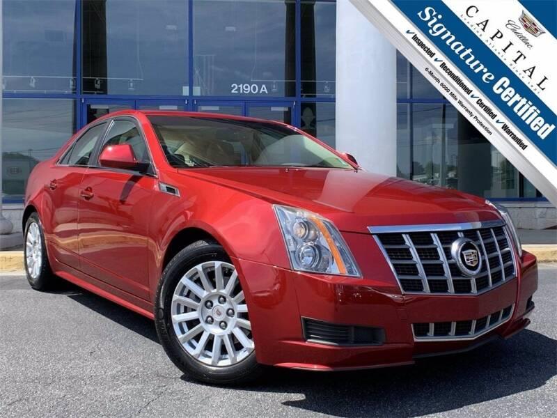 2012 Cadillac CTS for sale at Capital Cadillac of Atlanta in Smyrna GA