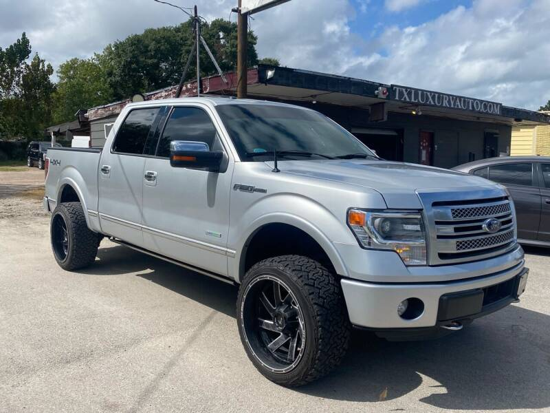 2014 Ford F-150 for sale at Texas Luxury Auto in Houston TX