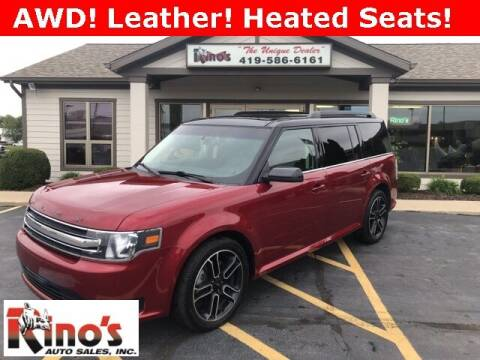 2014 Ford Flex for sale at Rino's Auto Sales in Celina OH