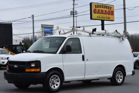 2009 Chevrolet Express Cargo for sale at Broadway Garage of Columbia County Inc. in Hudson NY