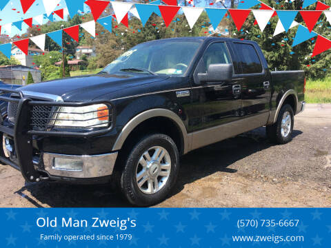 2004 Ford F-150 for sale at Old Man Zweig's in Plymouth PA