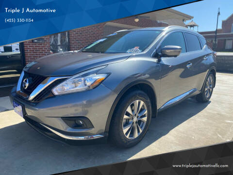 2015 Nissan Murano for sale at Triple J Automotive in Erwin TN